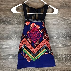 Free People Cool Cabana Embroidered Top NWT